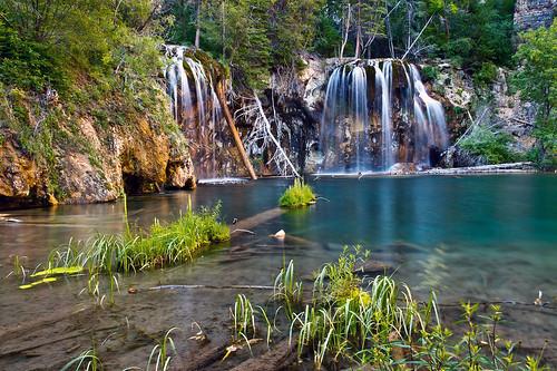 lake water beauty landscape waterfall colorado hiking hanginglake glenwoodcanyon