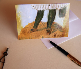 Greeting card is a design from my artwork