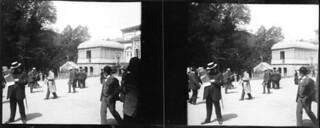 Esplanade devant le casino, Le Mont-Dore, juillet 1903
