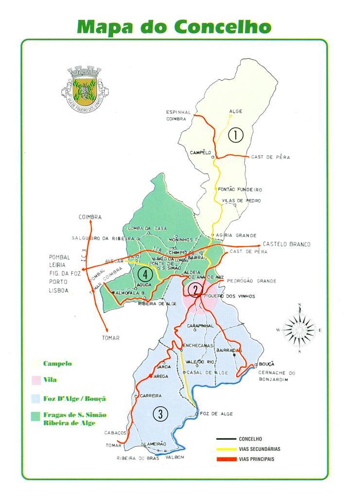 Mapa Figueiro Dos Vinhos Mapa