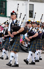 festival, musician, tradition, music, kilt, marching, costume, bagpipes, wind instrument,