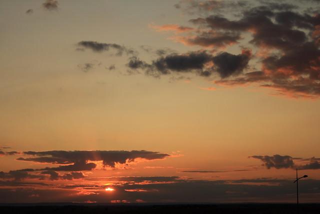 Sunset à Chambley