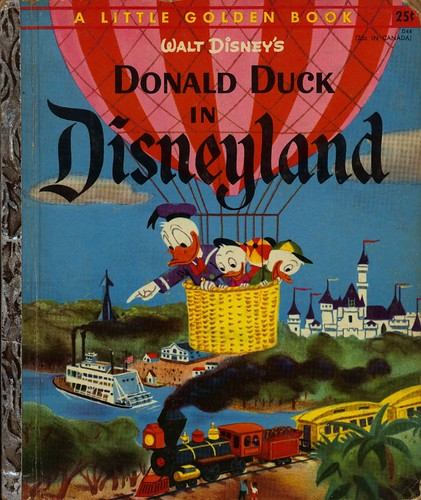 Walt Disney's Donald Duck in Disneyland00001