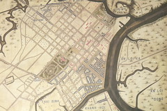 Old map of Saigon