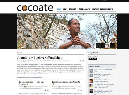 1. августа 2011 - 0:24 - joomla17.cocoate.com making of cocoate.com/de/node/9403 [German]