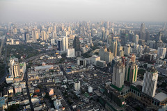 Bangkok viewed from Baiyoke Tower II