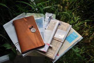 Carol小涵的TRAVELER'S notebook (2)