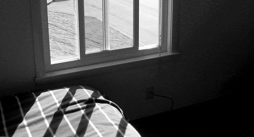 Bed Window B&W