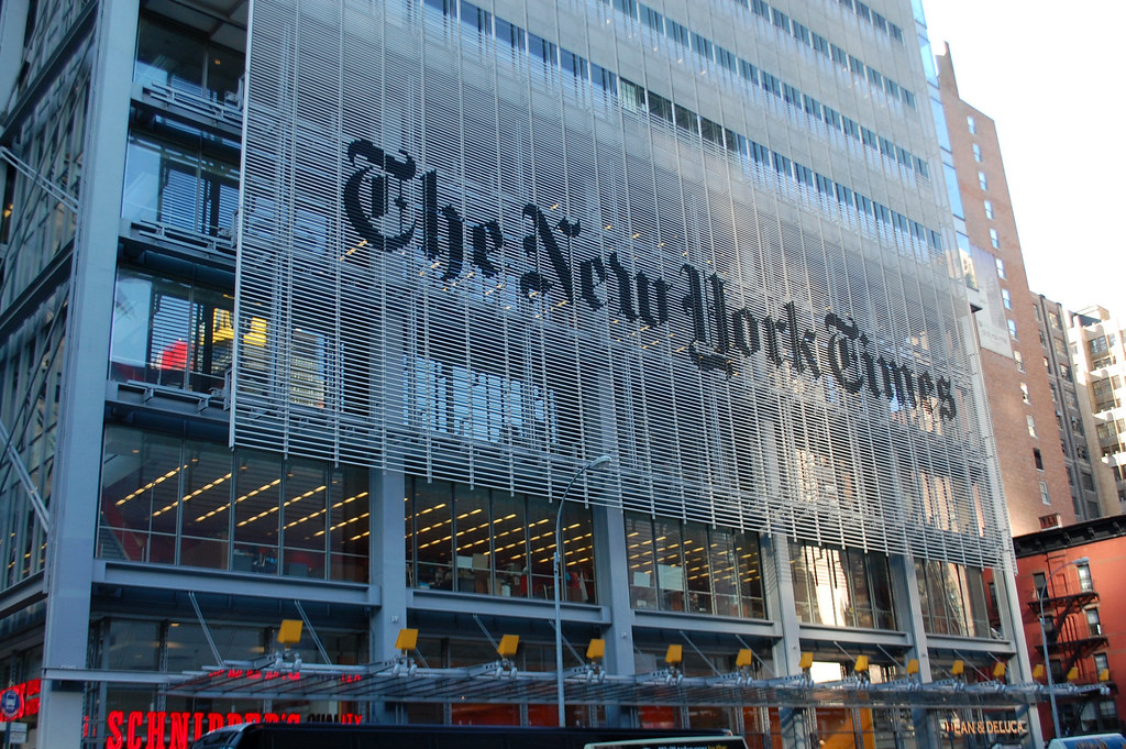 THE NEW YORK TIMES BUILDING - NEW YORK