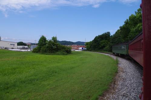 train wm westvirginia convention historical elkins wye westernmarylandrailway wmrhs elkinsjunction