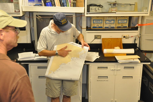 August 5, 2011 Chief Scientist Matt Liebman reviews sampling plan