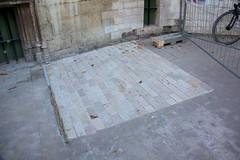 wall, driveway, flagstone, cobblestone, concrete, road surface, brick, brickwork,