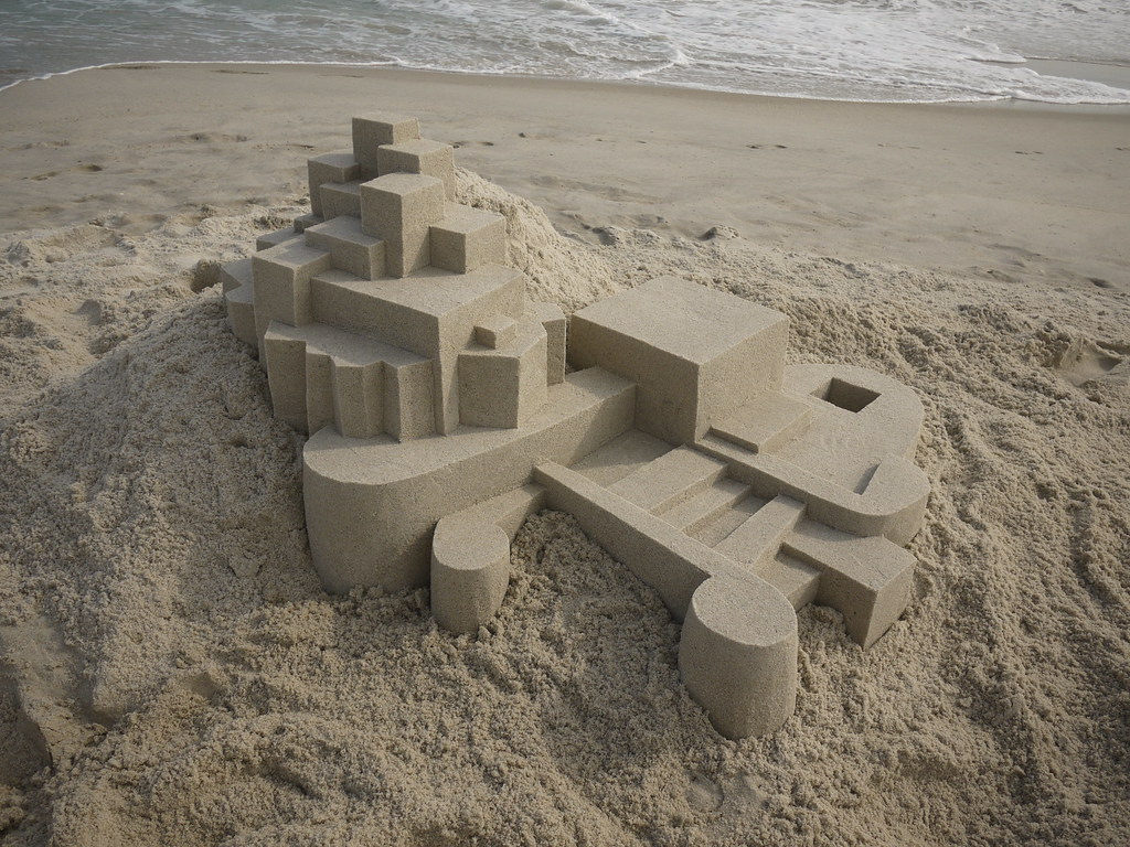 5897385860 92fa566f3d b Geometric Sand Sculptures by Calvin Seibert