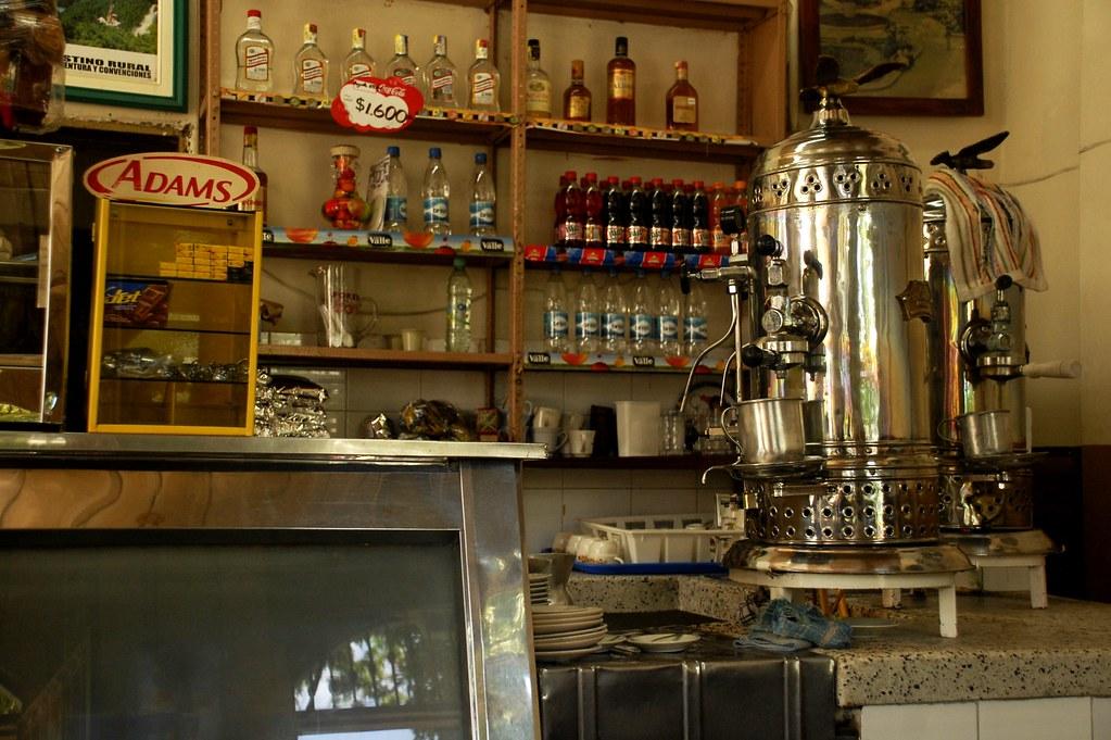 Imagen de una Cafetería típica de pueblo en Montenegro, Quindio