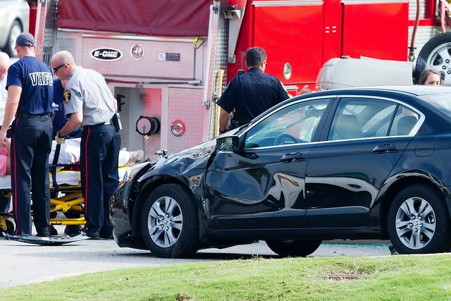 car accident @ vestavia hills
