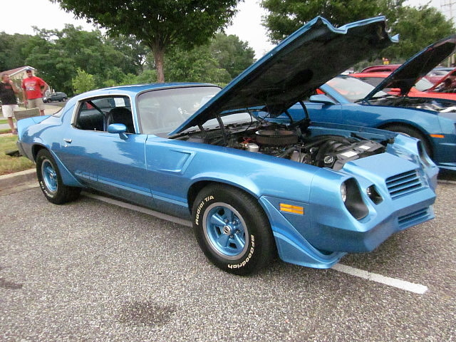 1980 Chevy Camaro Z28 | Lost in the 50s Cruise Night at ...