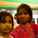 Young Girls at Bangla New Years - Rangamati, Bangladesh