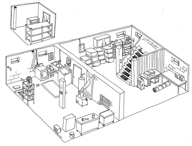 basement drawing
