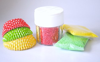 Cupcake wrappers and matching supplies