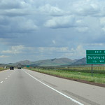 northbound I-15 at Sulphurdale – ½ mi to exit 129