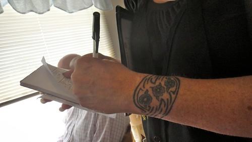 Wrist Tattoo Bracelet