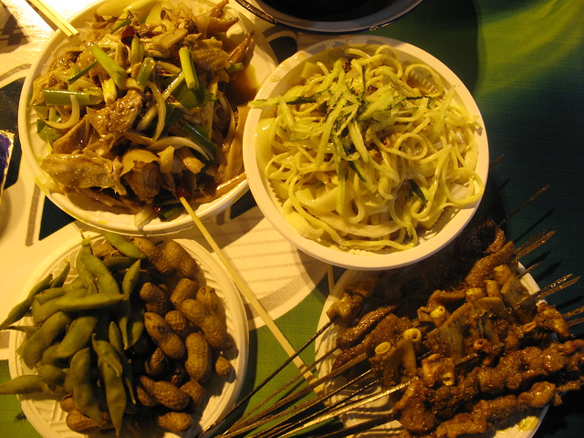 Xinjiang munchies
