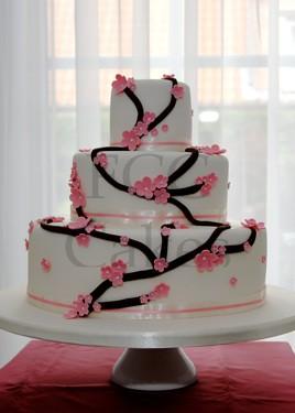Pièce Montée - Gâteau de Mariage Cerisier du Japon  Flickr - Photo ...