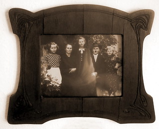 A friend's 1930s family photo in