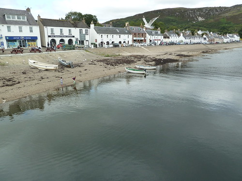 Ullapool Harbour, Scottish Highlands