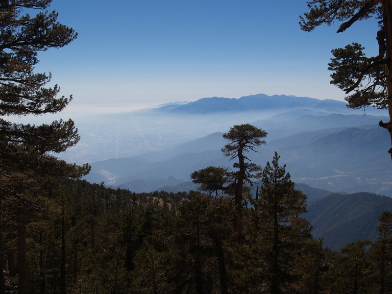 L.A. Haze from the San Bernardino Peak Trail