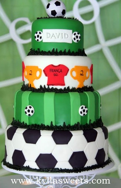 Soccer Cake A Gallery On Flickr