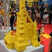 User created models at the LEGO booth - San Diego Comic Con - 1