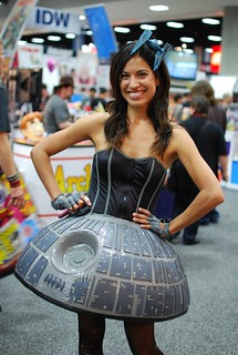 Star Wars: Miss Death Star cosplay by Jennifer Landa