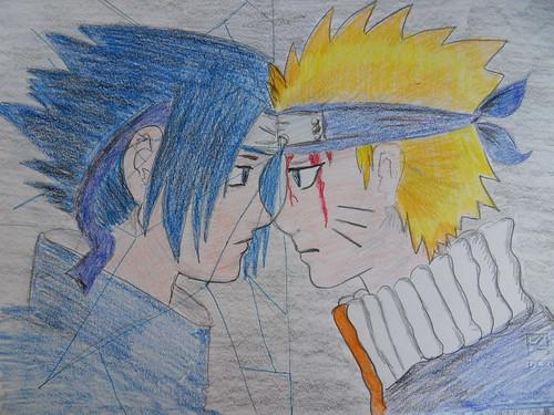 sasuke e naruto