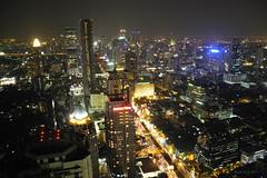 Bangkok : Moon bar view