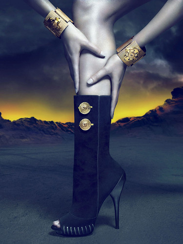 Saskia de Brauw for Versace Fall 2011 Ad Campaign by Mert and Marcus by Winter Phoenix