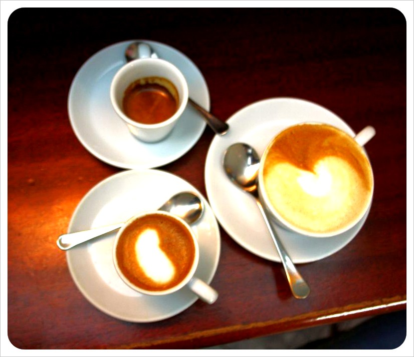 coffee drinks in pisa