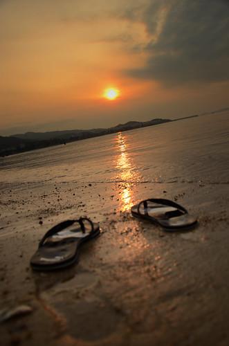beach sunrise 深圳 海滩 日出 七夕 大鹏湾
