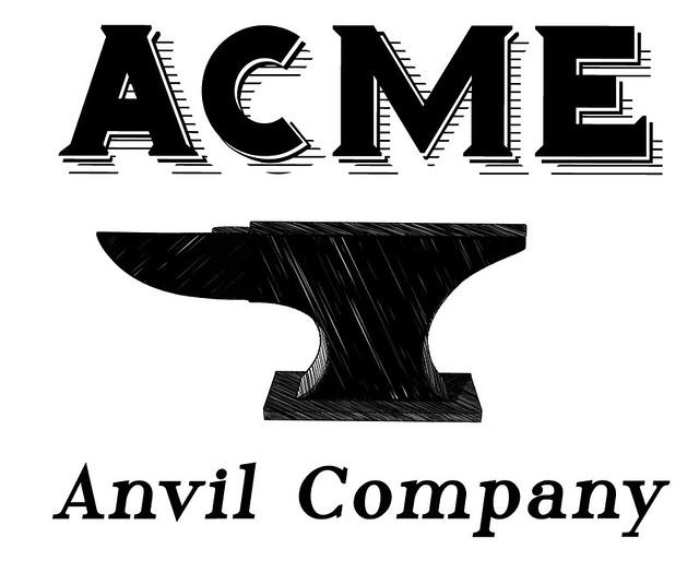 acme anvil company logo flickr photo sharing