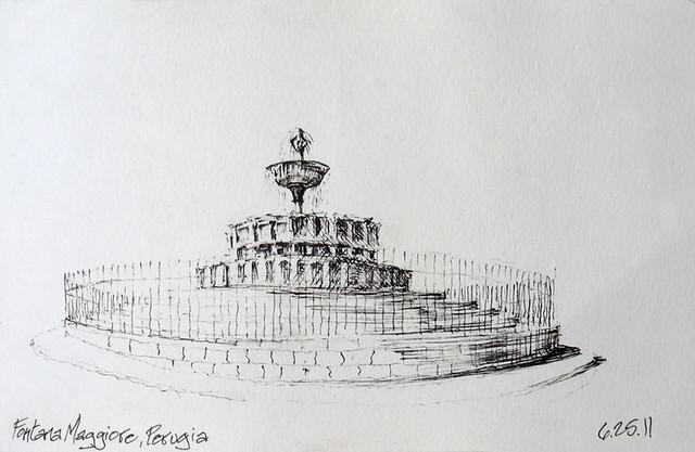 Fontana Maggiore - Perugia, Italia