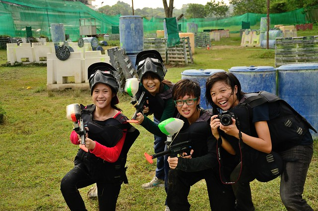 Paintball Girl Power ... Hear us ROAR!