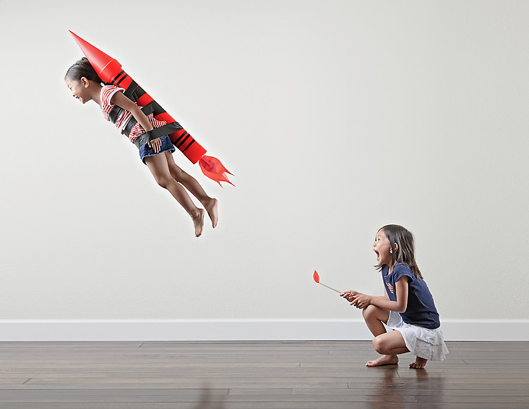 Creative dad takes most adorable kid photos ever for Photography ideas to do at home