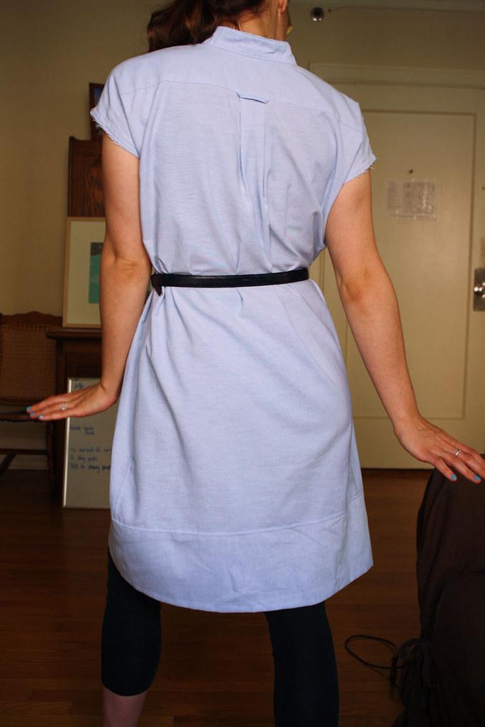 michael ann made men 39 s shirt to dress refashion