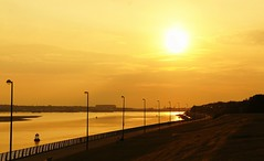 Otterspool Sunset by Fishlogic