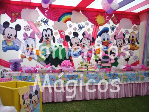 decoracion mickey mouse minnie baby momentos magicos 3 | Flickr ...