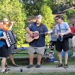 Music & food: Sloboda performs at DCFF picnic, Sister Bay