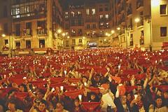 La calle, la juerga,la fiesta d�a 14 (c)  Mikel Lasa