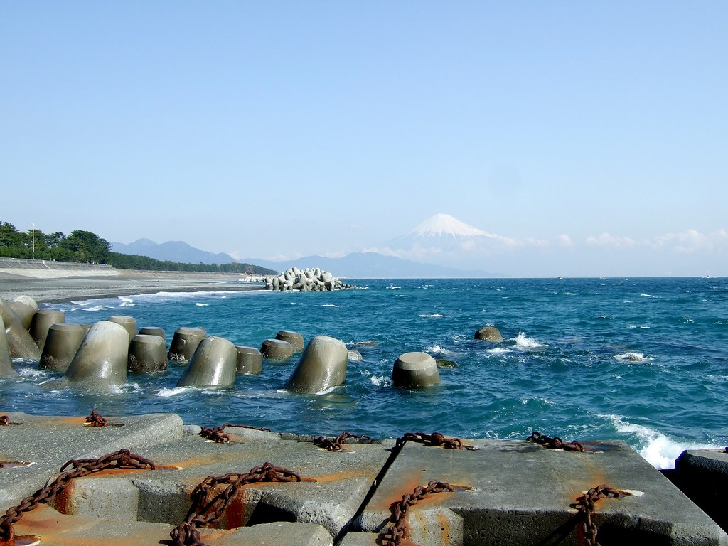 Сидзуока пляж