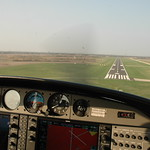 Short Final at KIKK