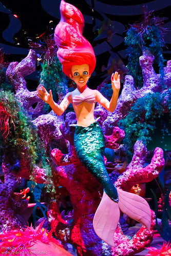 Disneyland June 2011 - The Little Mermaid - Ariel's Undersea Adventure